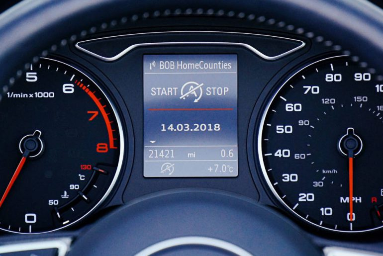 indikator dashboard mobil